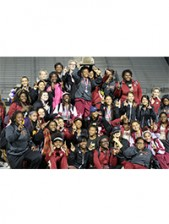 The Girls Track and  Field Team