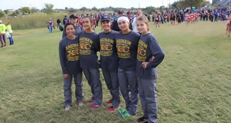Photo for The Lady Rough Rider Cross Country team finishes 13th in Regionals