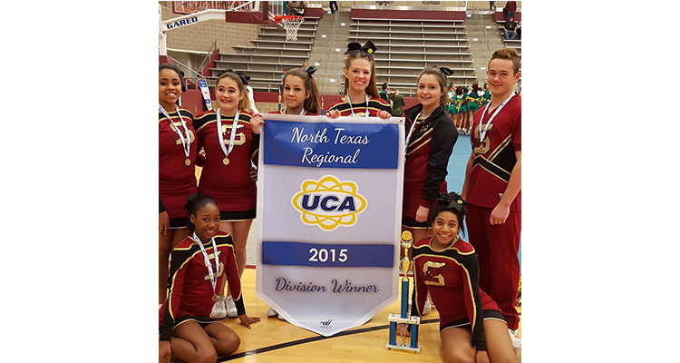 Photo for Varsity Competition Cheerleading team takes 1st at UCA North Texas!