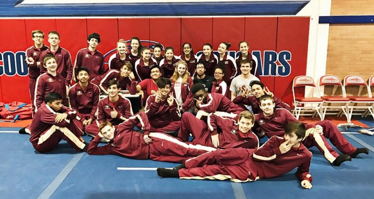 Photo for Saginaw Boy's Gymnastics Team Brings Home 3rd Place In State!