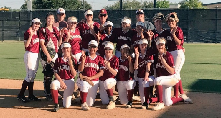 Photo for The Lady Rough Riders Sweep Arlington Heights To Become Area Champions!