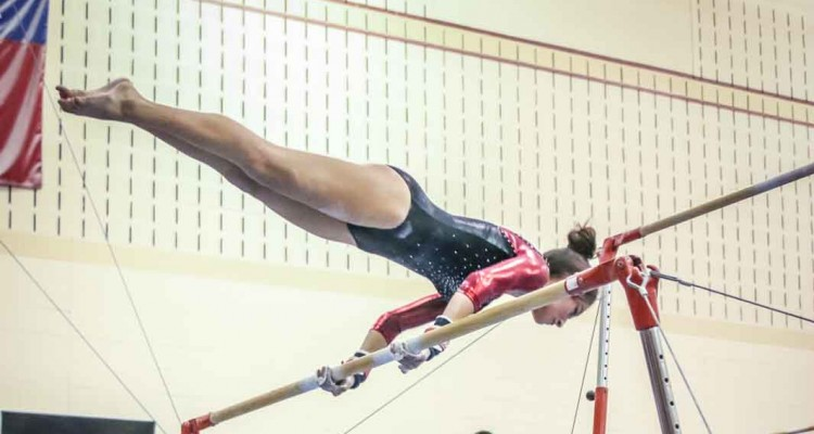 Photo for Saginaw Girls' Gymnastics Show Promise