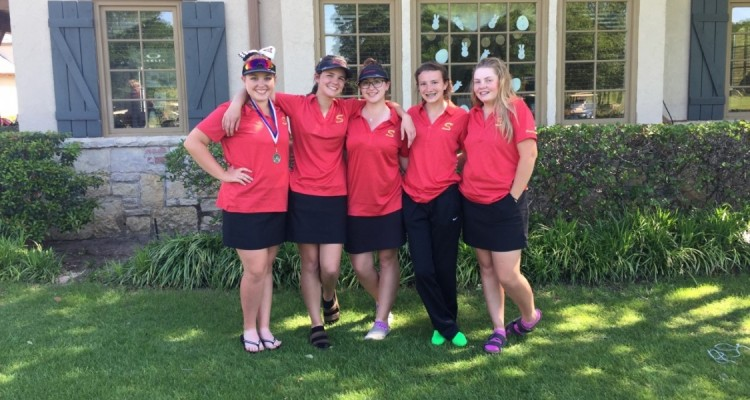 Photo for Saginaw Girl's Golf Posts Lowest Team Total At District Tournament